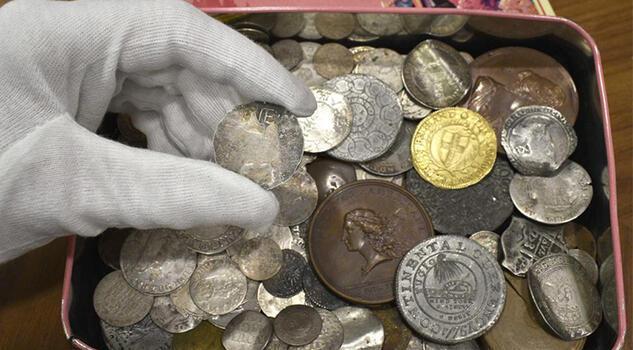 Değeri 3 milyon TL, çok nadir! Madeni para koleksiyonda gizlenmiş olarak bulundu