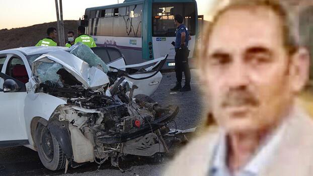 Halk otobüsüyle otomobilin çarpıştığı kazada 11 kişiden 1'i kurtarılamadı