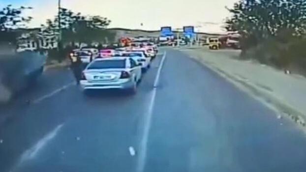 Kırmızı ışıkta zincirleme kaza! 6 kişi yaralandı