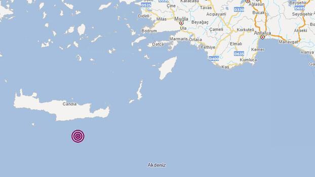 Son dakika... Akdeniz'de 4.2 büyüklüğünde deprem!