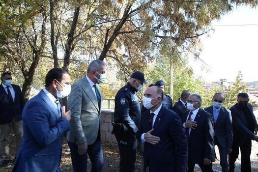Vali Günaydın ve Başkan Büyükkılıç'tan Pınarbaşı ilçesine ziyaret