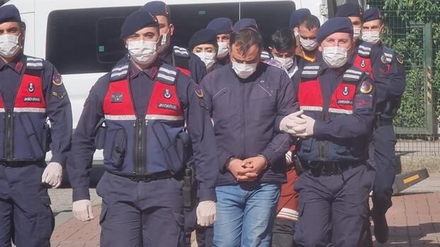 Kocaeli ve İstanbul'da yakalanan 4 PKK'lı terörist adliyede