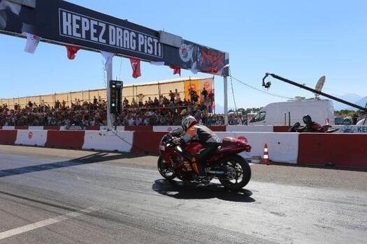 Türkiye Drag Şampiyonası yine Kepez'de