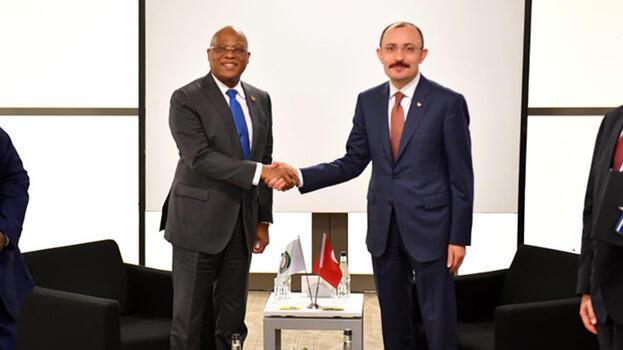 Ticaret Bakanı Muş, Afrikalı mevkidaşları ile görüştü
