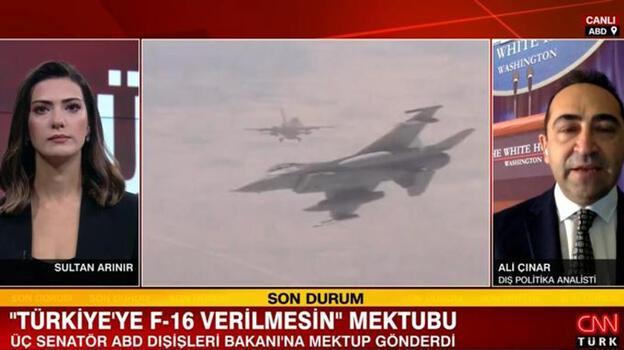 Son dakika... 3 ABD'li senatörden 'Türkiye'ye F-16 verilmesin' mektubu