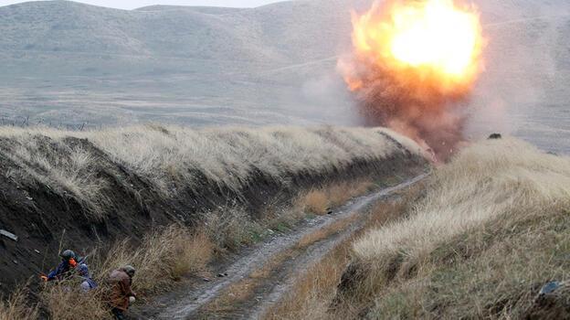 Azerbaycan Dağlık Karabağ'da 48 bin Ermenistan mayını temizledi