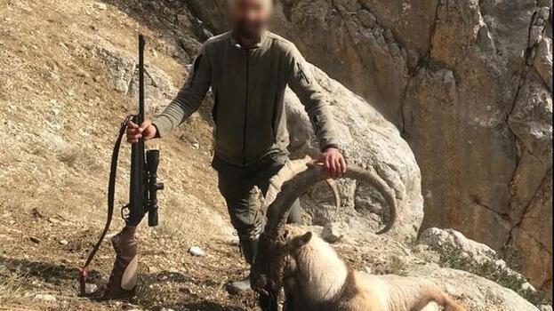 Yaban keçisi avına, sosyal medyadan ihbar sonrası para cezası