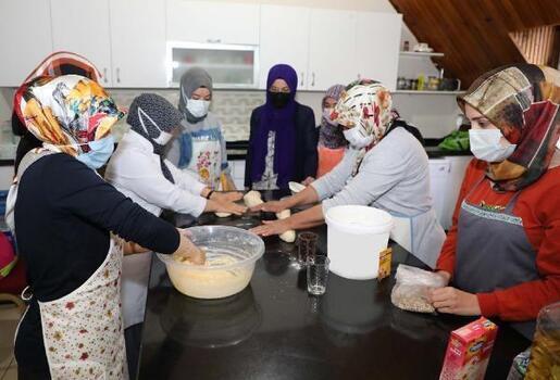 Talas'ta kadınlara yönelik kurslara yoğun ilgi