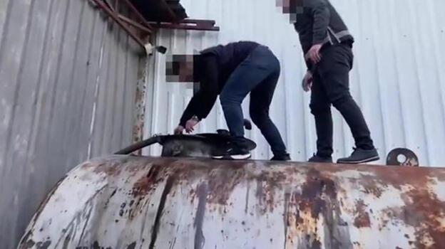 İstanbul'daki operasyonda 73 bin 500 litre kaçak akaryakıt ele geçirildi