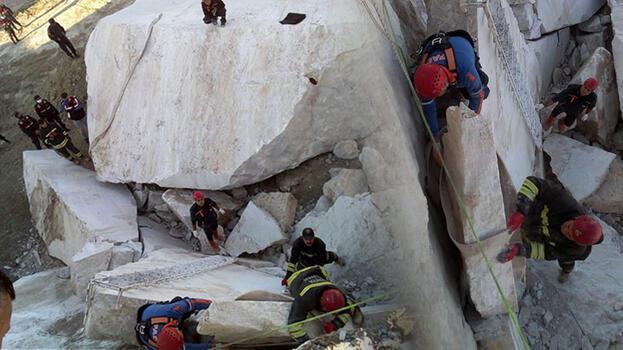 Maden ocağında feci olay! Kayaların arasında sıkışan işçi hayatını kaybetti