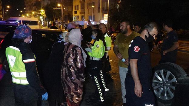 Antalya'da 3 aracın karıştığı kaza sonrası beddua tartışması