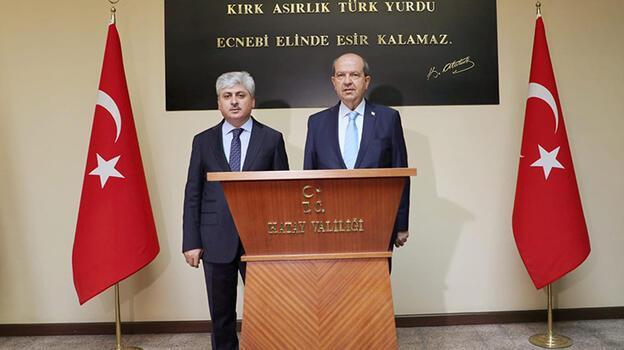 KKTC Cumhurbaşkanı Tatar: Kıbrıs'ta yaşayan iki millet var, tüm dünya böyle bilmeli