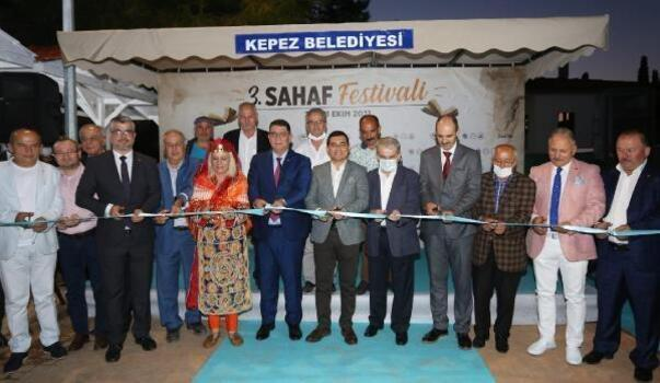 Kepez'in 3. Sahaf Festivali kapılarını açtı