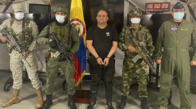 Escobar'dan bu yana en büyük darbe: Otoniel yakalandı