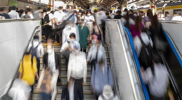 Tokyo'da restorasyon çalışması ulaşımı olumsuz etkiledi