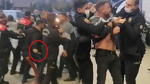 Nakliyeciler ve yakınlarının bıçaklı kavgası! 4 kişi yaralandı