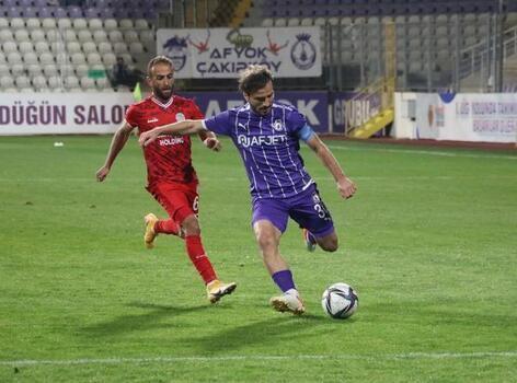 AFJET Afyonspor - Etimesgut Belediyespor: 1-1