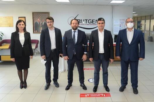 Bursa İl Milli Eğitim Müdürü Serkan Gür BUTGEM'i ziyaret etti
