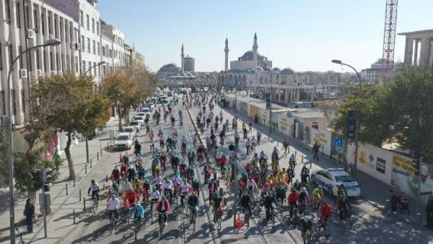 Konya'da Bisiklet Festivali coşkusu