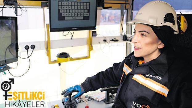 Çelik üretiminde 'Kadına Güç İş yok'