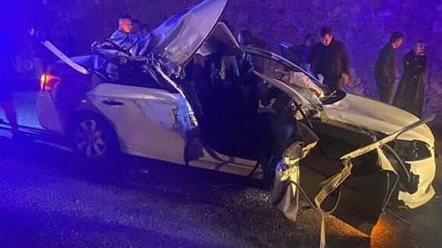 CHP'li Belediye Başkanı'nın otomobili kaza yaptı