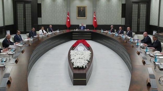 Son dakika... Kabine toplantısı başladı! Gözler Ankara'da