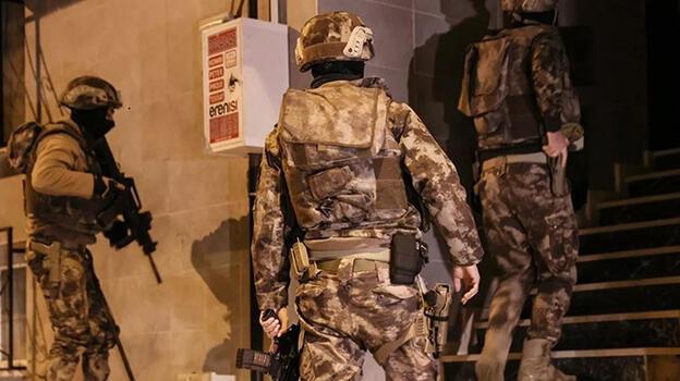 Gaziantep'te terör operasyonlarında 2 tutuklama