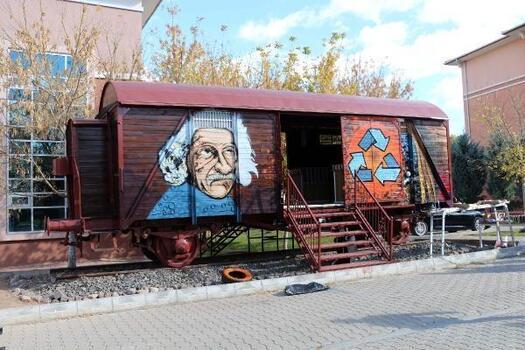 Çankırı'da 'Dönüşüm Vagonu'nun tanıtımı yapıldı