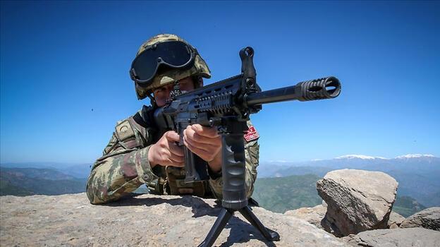 Saldırı hazırlığındaki 4 PKK/YPG'li terörist etkisiz hale getirildi
