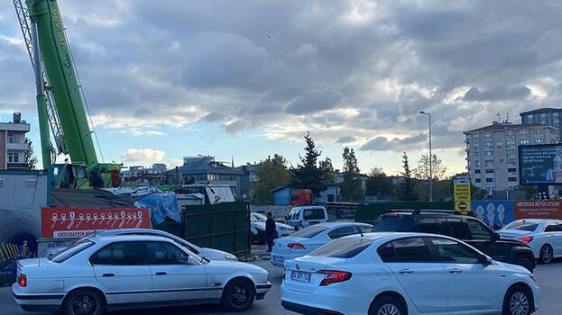 Ataşehir'de metro inşaatında faciadan dönüldü!