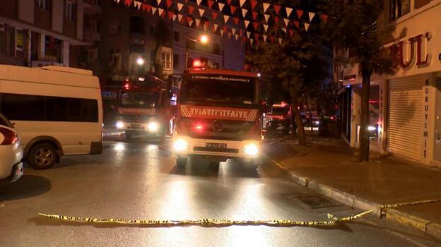 Gaziosmanpaşa'da kavga eden kardeşlerden biri evi ateşe verdi