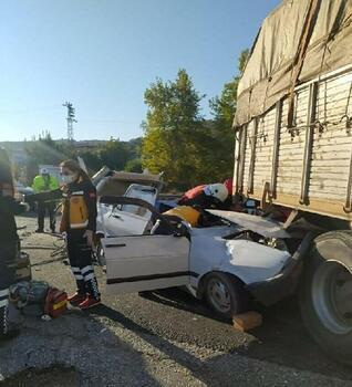 Ahmetli'de trafik kazası: 1 ölü