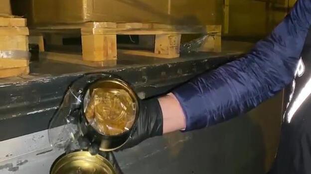 Kaçak nargile tütünü operasyonu! 16,5 ton yakalandı