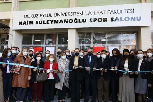 DEÜ Naim Süleymanoğlu Spor Salonu hizmete girdi