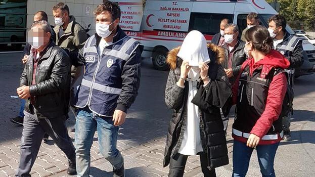 Kayseri'de uyuşturucu operasyonu! 4 kişi adliyede