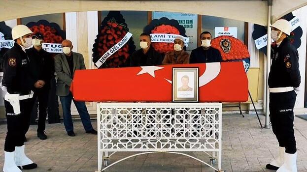 Kazada ölen polis memuru, Karabük'te toprağa verildi