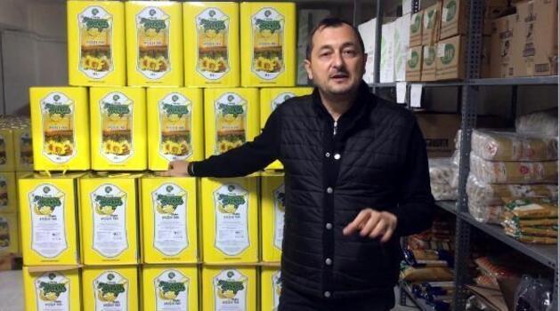 Süleymanpaşa Belediyesi ayçiçeği yağı üretti