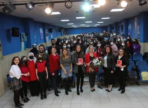 Genç iletişimciler BHİD Başkanı Oruç'u ağırladı
