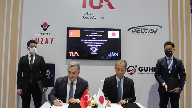 Türkiye Uzay Ajansı'ndan önemli 'Japonya' adımı