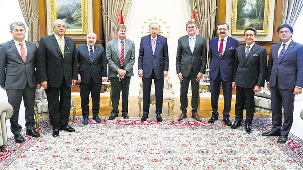 Erdoğan, Farasis Enerji CEO'sunu kabul etti