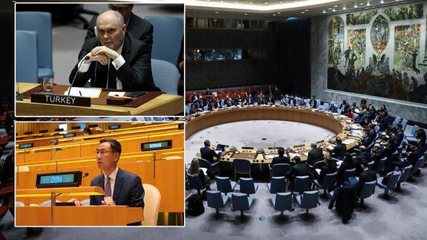BM Güvenlik Konseyi'nde Türkiye-  Çin gerilimi! Sizden ders alacak değiliz