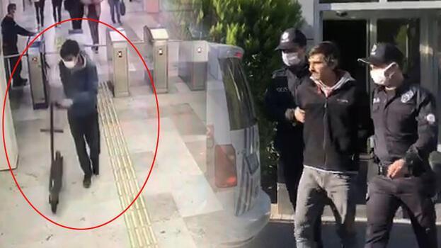 Çalıntı İstanbulkart'la seyahat edip binalardan hırsızlık yapan şüpheli tutuklandı