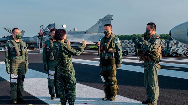 Tayvan adadaki ABD askerlerini ilk kez doğruladı
