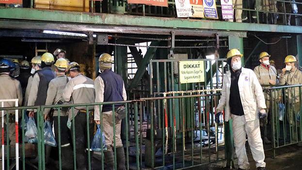 Zonguldak'ta maden ocağında göçük! 1 işçi yaralı