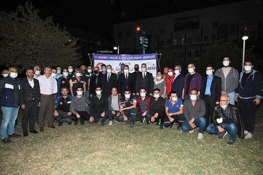 Vali Yılmaz, AFAD Gönüllüleri ile bir araya geldi