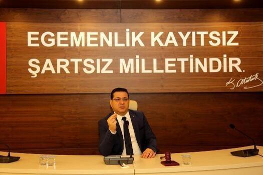 Başkan Eken'den 'Cumhuriyet Bayramı' mesajı