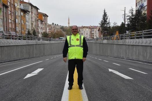 Yapımı tamamlanan alt geçit trafiğe açıldı