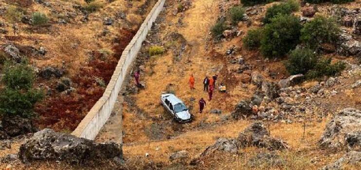 Gaziantep'te otomobil şarampole devrildi: 1 yaralı