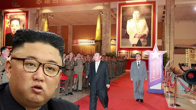 Kuzey Kore Lideri Kim Jong-un için flaş iddia! Babası ve büyükbabasının fotoğraflarını kaldırttı!