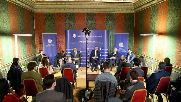 İletişim Başkanlığı'ndan Roma'da 'Kovid-19 Sonrası Küresel Yönetişim' paneli
